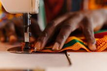 Crop Male Tailor Creating Nati...