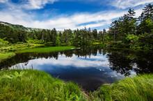 Midori-numa Pond, Daisetsu Kogen Onsen Trail, Daisetsuzan National Park, Kamikawa, Hokkaidō, Japan, Asia
