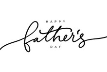 Happy Father's Day Calligraphy...