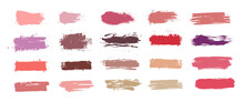 Brushstroke Swatch. Makeup Pai...