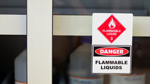 Chemical Hazard Sign Pictogram...