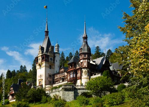 Valokuvatapetti Peles Castle, Romania