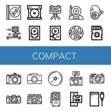 Compact Icon Set