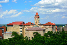 Buildings On The University Of Kansas Campus In Lawrence, Kansas.