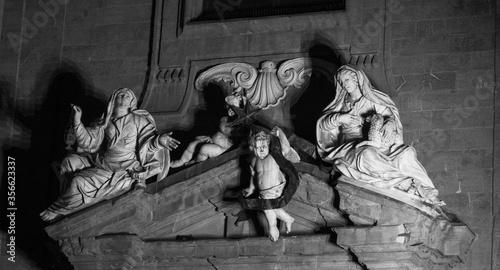 Fotografiet Sculptures in Italy