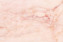 Rose Gold Marble Texture In Na...