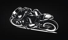 Sportbike Motorcycle Racer