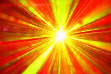 Laser Lights During The Concert