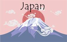 Japan Card Vector Theme Oriental