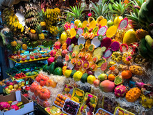 Stall With Free Sale Of Fruits...