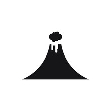 Volcano Vector Illustration De...