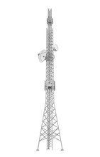 Communication Tower Isolated