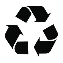 Recycle Icon Vector Isolated O...