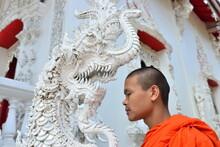 Buddhist Monk In Lampang