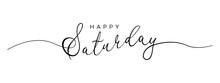Happy Saturday Letter Calligra...