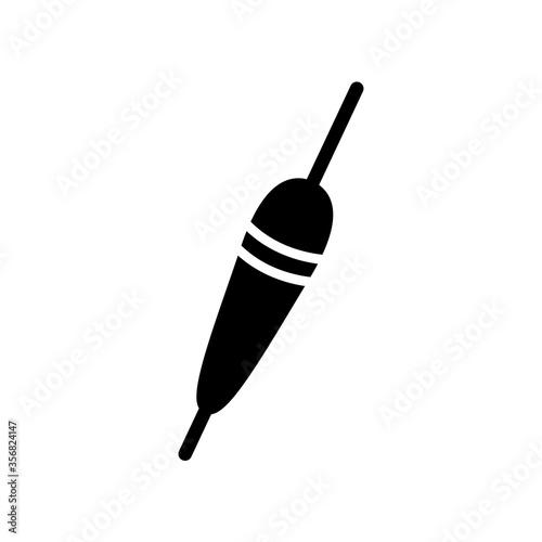 Fototapeta fishing float icon in trendy flat design