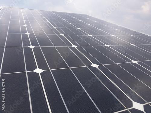 Panel solar Canvas Print