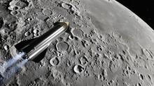 SpaceX Starship Satellite, Spa...