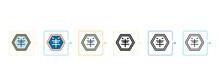 Logogram Vector Icon In 6 Diff...