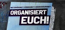 Organisiert Euch! Protestplakat