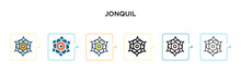 Jonquil Vector Icon In 6 Diffe...