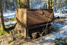 Old Rusty Mining Cart