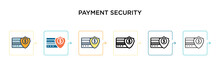 Payment Security Vector Icon I...