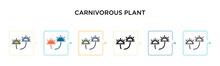 Carnivorous Plant Vector Icon ...