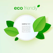 Minimal Eco Friendly Graphic D...