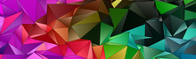Abstract Low-Poly Background. ...