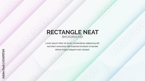 Photo abstract background with geometry rectangle line