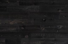 Deep Black Wood Plank Seamless...