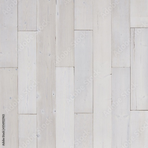 Whitewashed seamless wood wall panel texture Canvas-taulu
