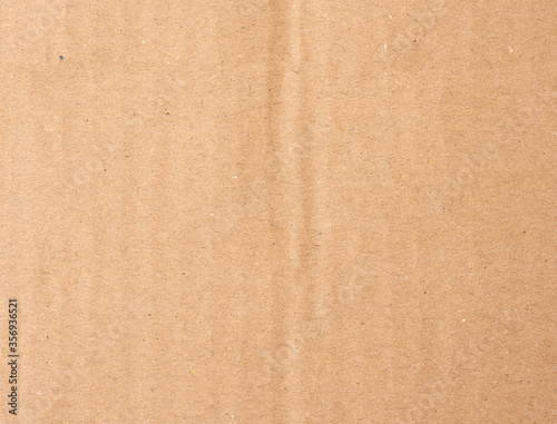 smooth brown cardboard paper, full frame