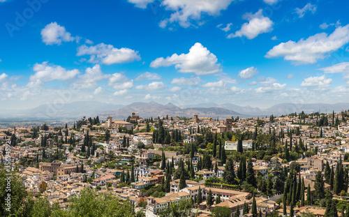 Fotografía Panoramic view of Granada