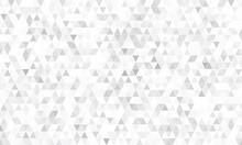 Mirror Silver Triangle Tiles. ...