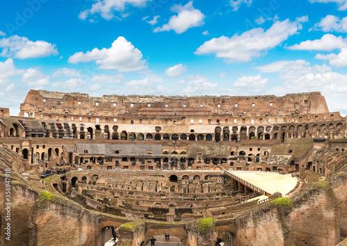 Fotografie, Obraz Coliseum in Rome, Italy