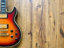 Sunburst Electric Guitar Made ...