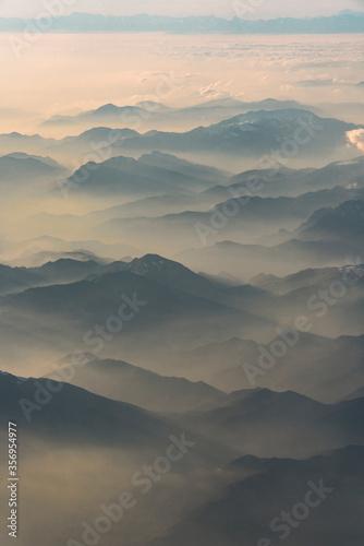 sopra le nuvole Canvas Print