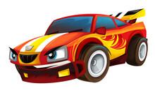 Cool Looking Cartoon Racing Ca...