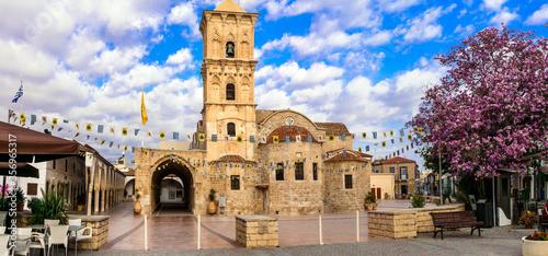 Religious Landmarks and monuments of Cyprus island - Byzantin church Saint Lazaros in Larnaka town