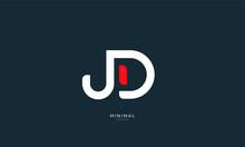 Alphabet Letter Icon Logo JD