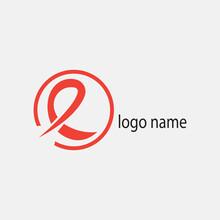Letter E Creative Red Logo Ill...