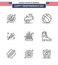 Happy Independence Day USA Pac...