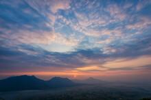 Landscape Lot Of Fog Phu Thok ...