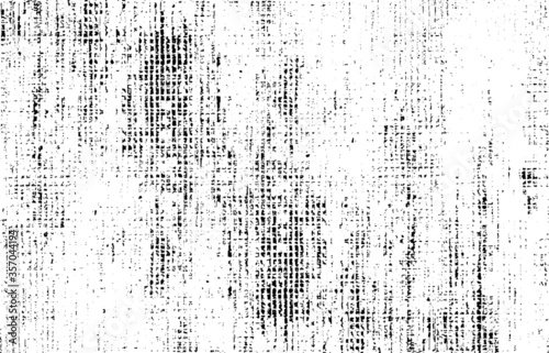 Fototapeta Rough black and white texture vector. Distressed overlay texture. Grunge background. Abstract textured effect. Vector Illustration. Black isolated on white background. EPS10 obraz