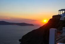 Santorini Sunset (Greece)