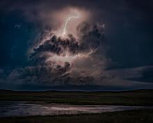 Lightning Storm Over The Nebra...
