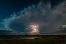 Lightning Storm Over The Nebra...