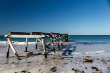 The Ruins Of The Pier At The O...